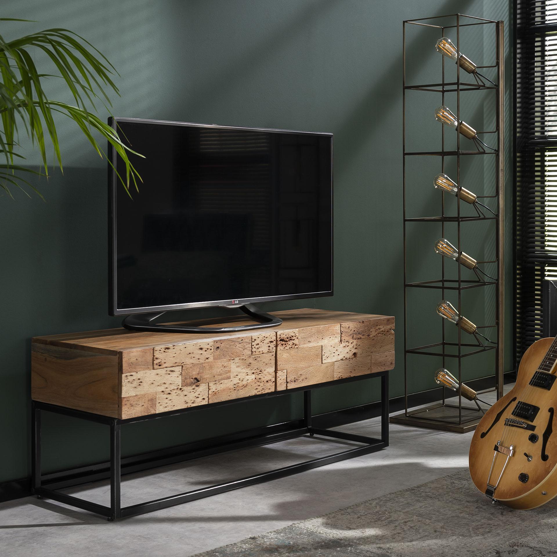TV bord massiv